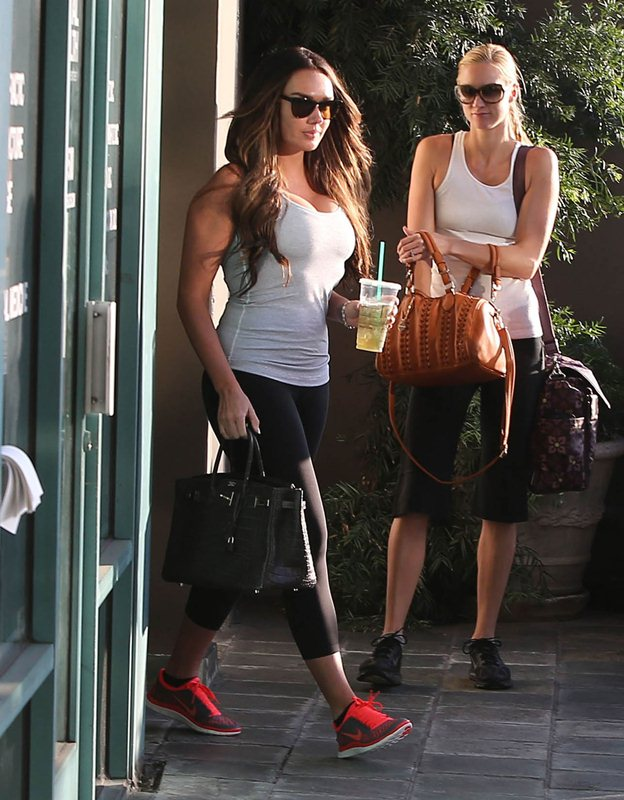 Tamara Ecclestone At Barry's Bootcamp