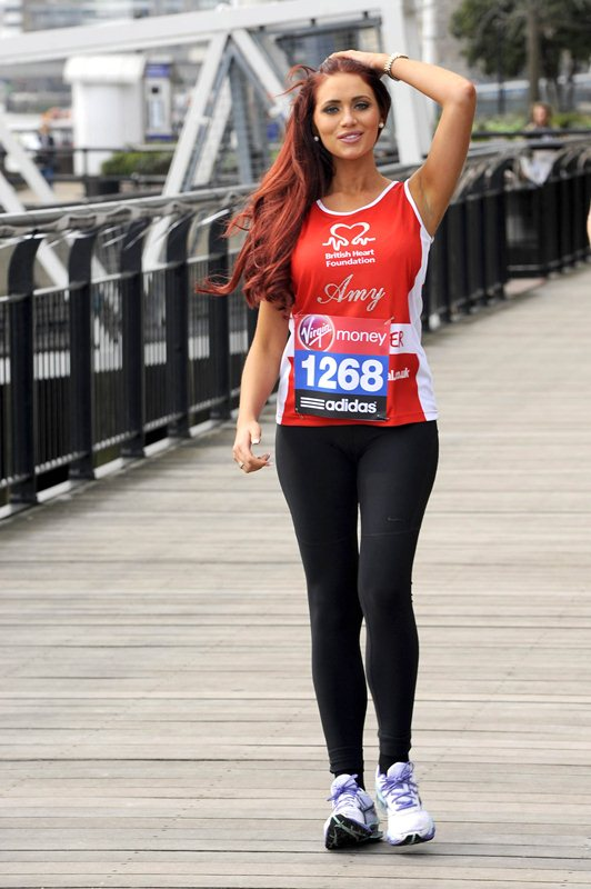 Virgin London Marathon - Celebrities photocall