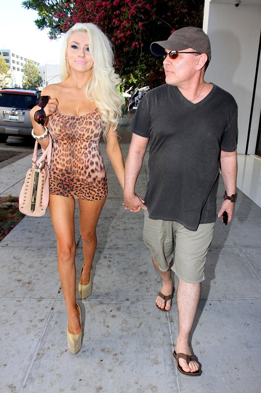 Doug Hutchison and Courtney Stodden has lunch