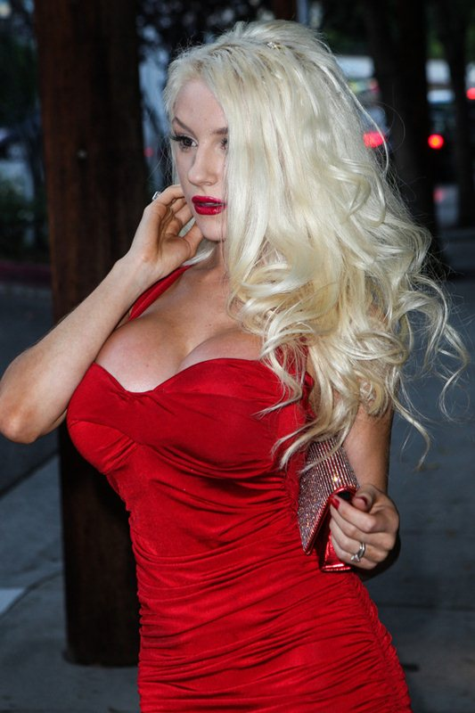 courtney_stodden_red_dress_art_show_hollywood_kanoni_5