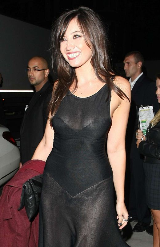 Daisy-Lowe-braless-see-through-at-W-Magazine-Dinner-1