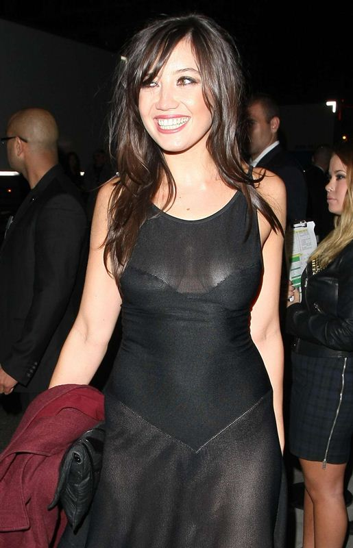 Daisy-Lowe-braless-see-through-at-W-Magazine-Dinner-3