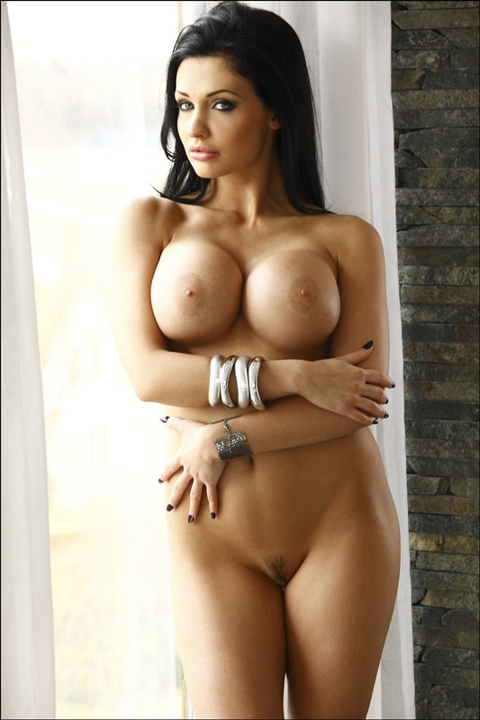 aletta-ocean-bedroom-window-topless-photoshoot-kanoni-6