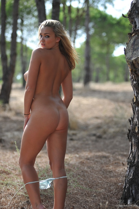Babes in the forest hungry woman gets food 10