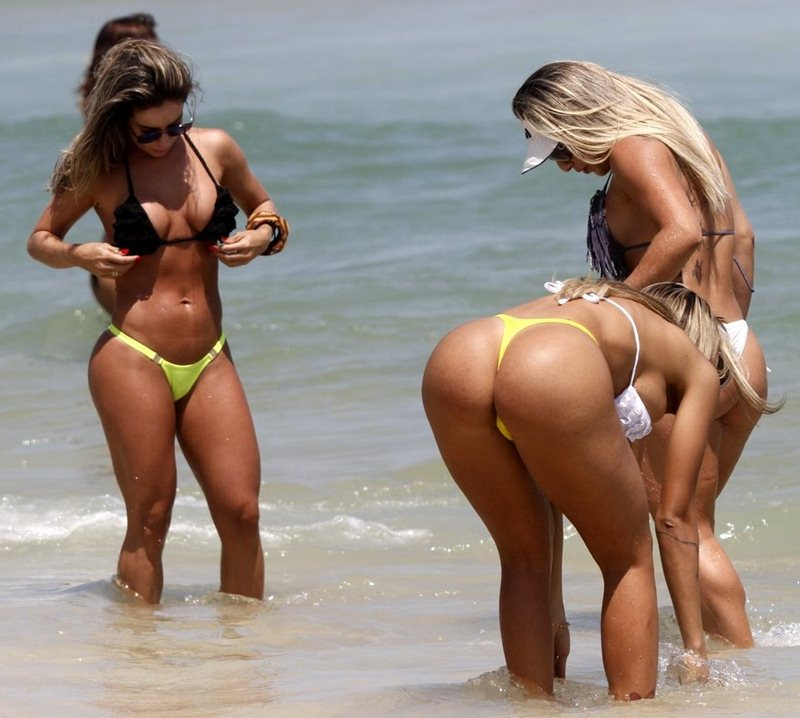 Summmer black sea topless beach girls candid thong ass real voyeur