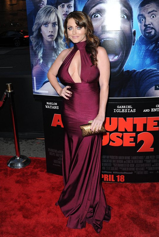 Premiere of 'A Haunted House 2'