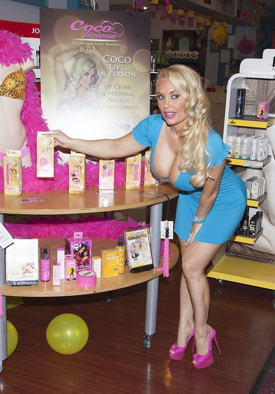 """Coco Austin Launches Her """"Coco-Licious"""" Pleasure Product Collection"""