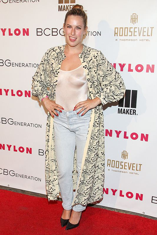 Scout Willis and Tallulah Willis attend the Nylon + BCBGeneration May Young Hollywood Party