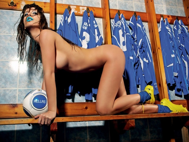 Elizabeth-Laini-Topless-Soccer-Photoshoot-for-Greece-World-Cup-2014-Kanoni-3