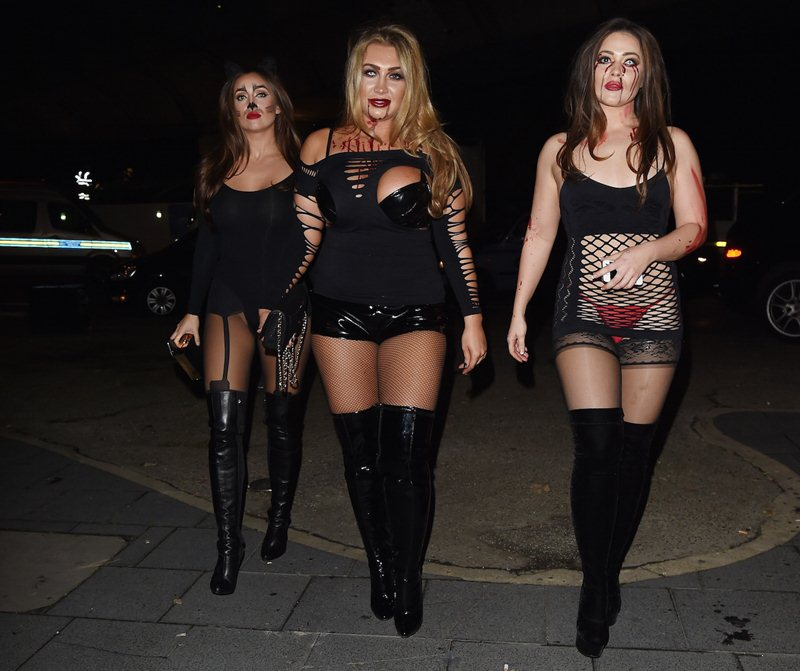 Lauren-Goodger-Halloween-Party-Kiss-Fm-Kanoni-4