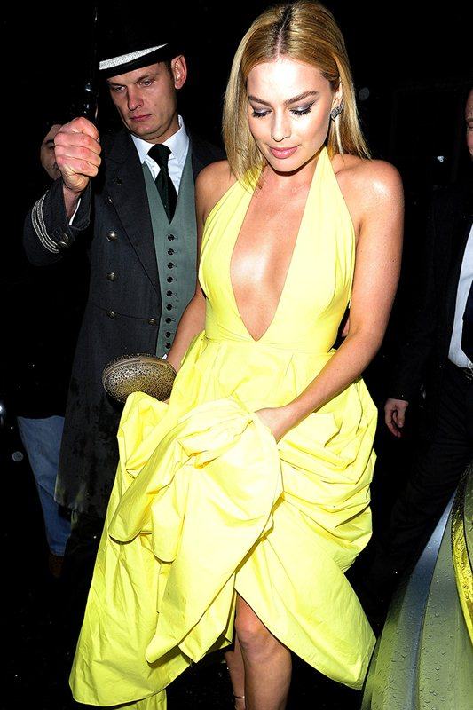 Celebrities Leaving Harper's Baazar Women of the Year Awards **USA ONLY**
