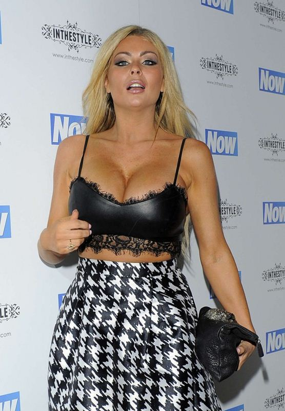 Nicola-McLean-Busty-Now-Christmas-Party-2014-London-Kanoni-3