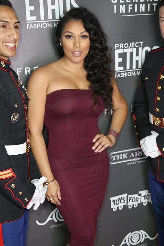 Daphne Joy and Shantel Jackson support Toys for Tots and Project Ethos