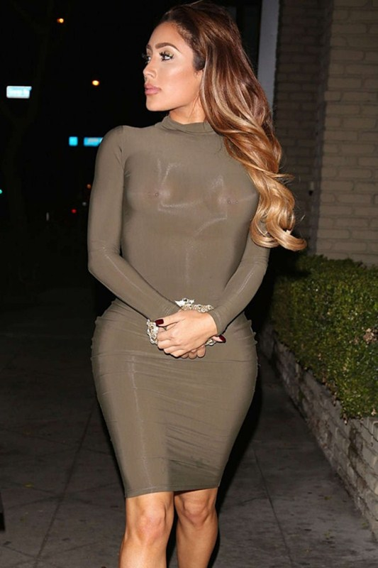 Nikki-Mudarris-in-See-through-Tight-Dress-Out-Los-Angeles-Kanoni-1