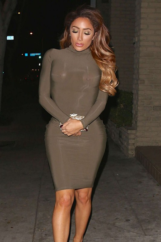 Nikki-Mudarris-in-See-through-Tight-Dress-Out-Los-Angeles-Kanoni-2
