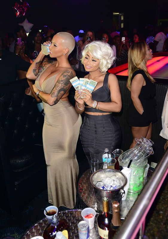 Amber Rose and Blac Chyna host Diva Fridays at G5ive Lounge