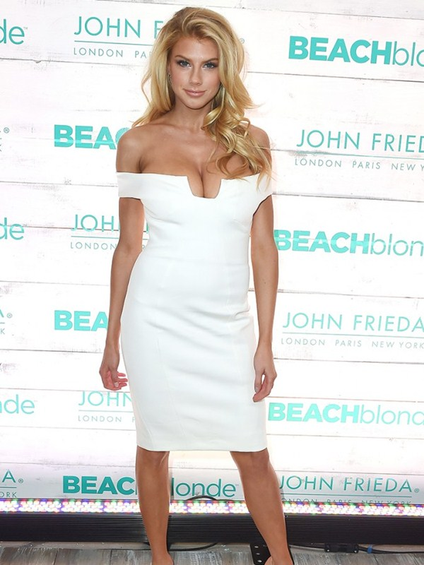 Charlotte-McKinney-Super-Busty-In-White-Dress-At-The-John-Freida-Launch-Event-In-NYC-Kanoni-5