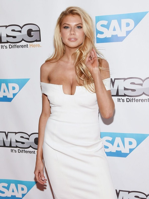 Charlotte-McKinney-Super-Busty-In-White-Dress-At-The-John-Freida-Launch-Event-In-NYC-Kanoni-7