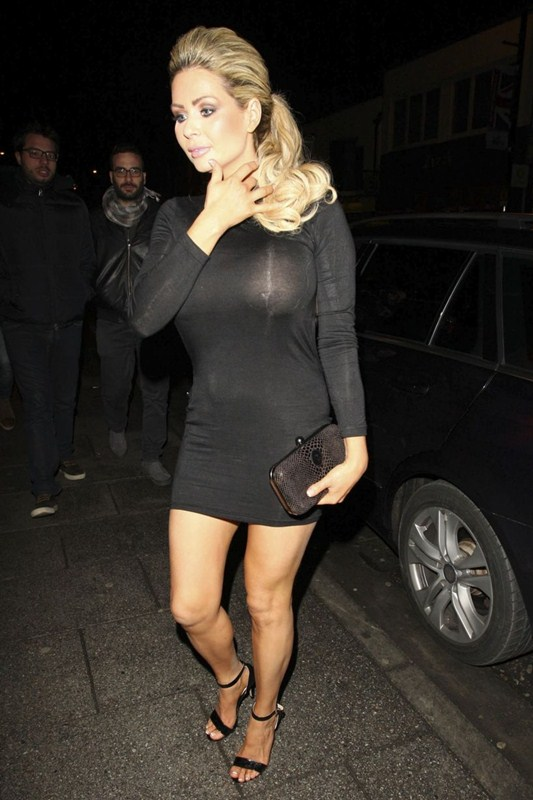 Nicola-McLean-Braless-See-through-Sugar-Hut-Brentwood-Kanoni-2