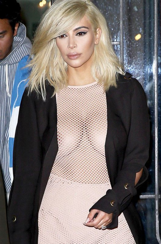 Kim-Kardashian-Blonde-Big-Cleavy-See-Through-Dress-Paris-Kanoni-1