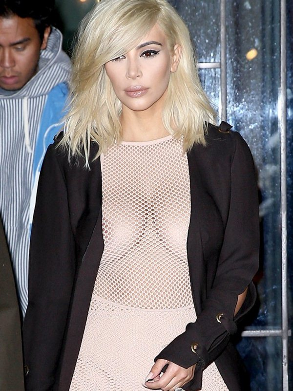 Kim-Kardashian-Blonde-Big-Cleavy-See-Through-Dress-Paris-Kanoni-3