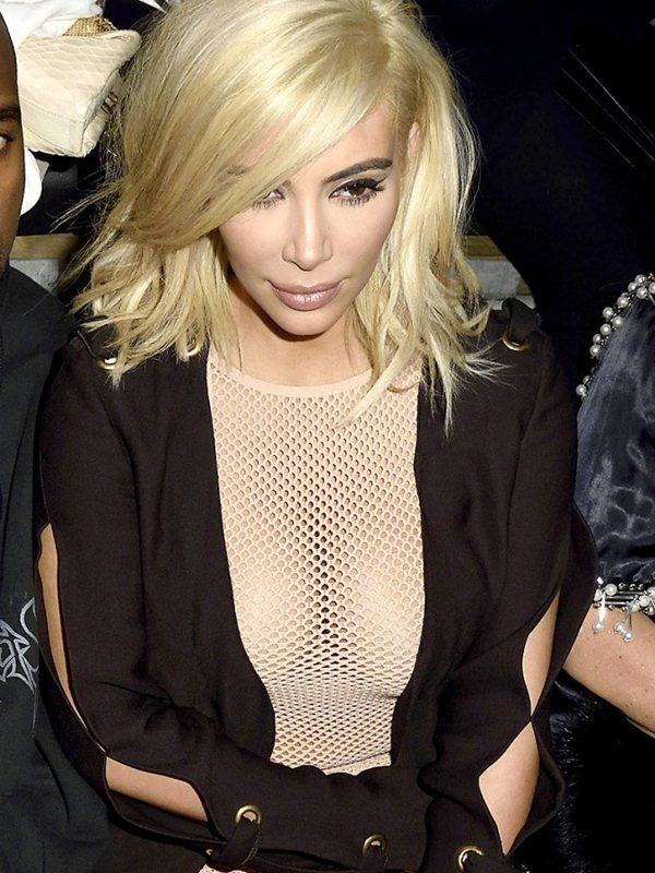 Kim-Kardashian-Blonde-Big-Cleavy-See-Through-Dress-Paris-Kanoni-7
