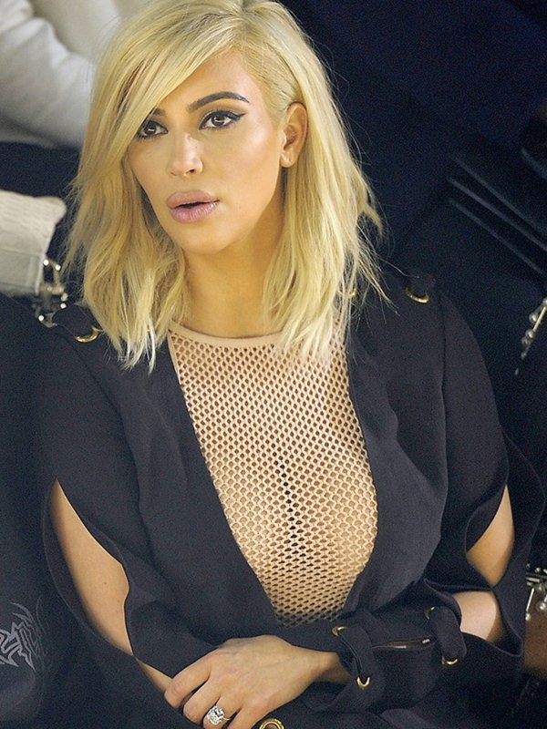 Kim-Kardashian-Blonde-Big-Cleavy-See-Through-Dress-Paris-Kanoni-8