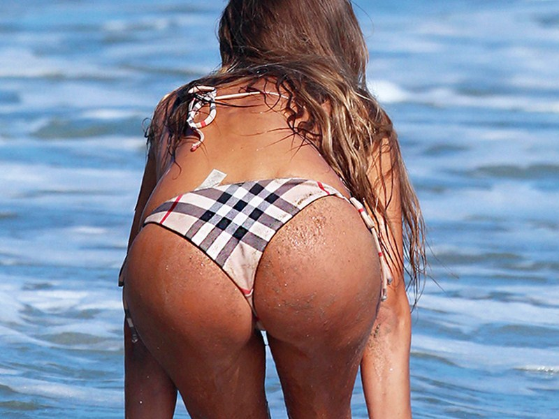 Charlie Riina Does A Beach Photo Shoot