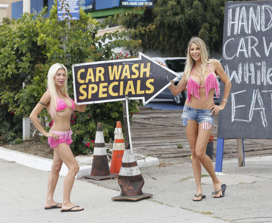 Frenchy-Angelique-Morgan-Puma-Swede-Sexy-Car-Wash-Malibu-Kanoni-10