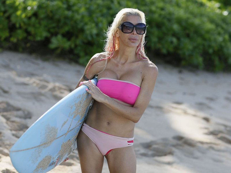 """Exclusive... Angelique """"Frenchy"""" Morgan Does A Photo Shoot In Hawaii"""