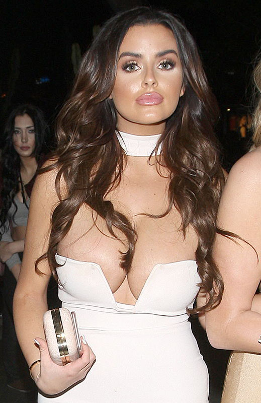 Abigail Ratchford Parties At Bootsy Bellows Night Club