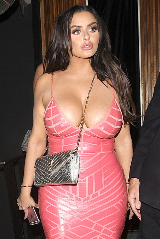 Abigail Ratchford Parties At The Nice Guy Club