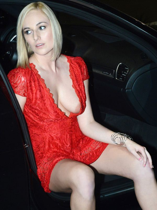 kate-england-nipple-slip-red-dress-night-out-miami-kanoni-3