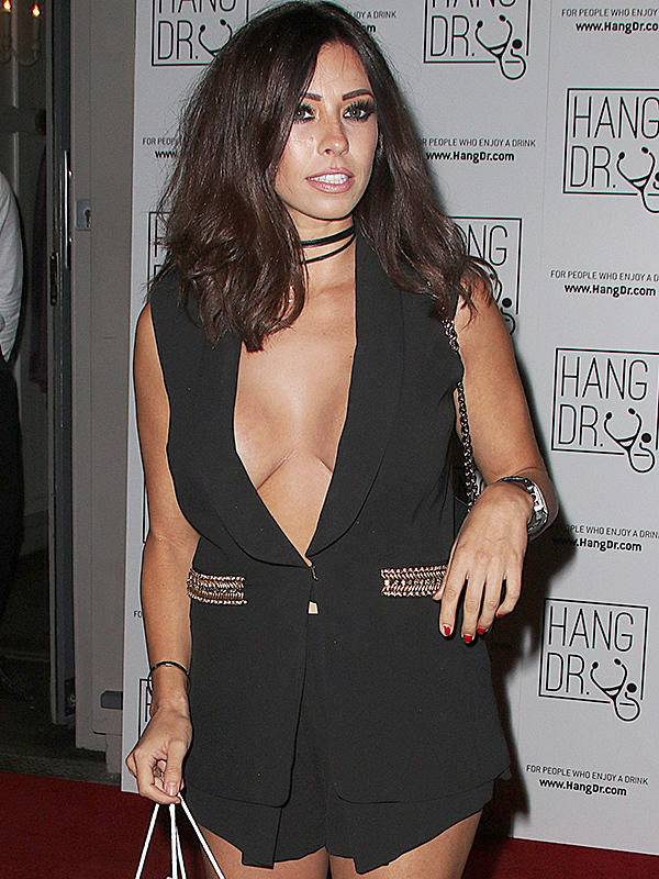 Celebrities attend the Hang Dr launch party at the Archer Street Cocktail Bar