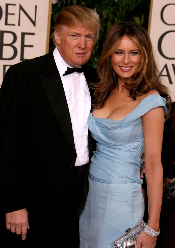 Donald Trump and Melania Trump 64th Annual Golden Globe Awards - Arrivals Beverly Hilton Beverly Hills , CA USA January 15, 2007 Photo by Steve Granitz/WireImage.com To license this image (12250141), contact WireImage: U.S. +1-212-686-8900 / U.K. +44-207-868-8940 / Australia +61-2-8262-9222 / Germany +49-40-320-05521 / Japan: +81-3-5464-7020 +1 212-686-8901 (fax) info@wireimage.com (e-mail) www.wireimage.com (web site)