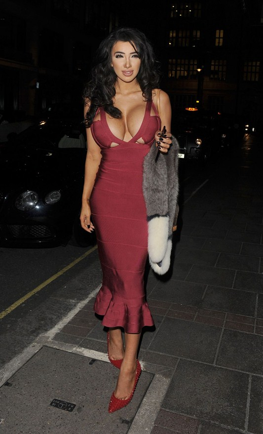 chloe-khan-red-dress-big-boobs-out-for-dinner-in-mayfair-kanoni-4