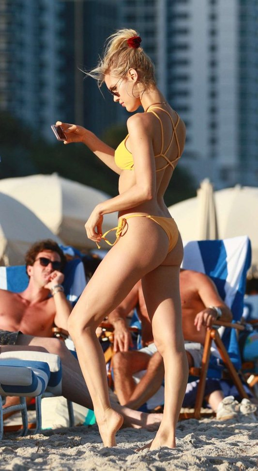 joy-corrigan-in-yellow-bikini-miami-beach-kanoni-3