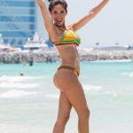 Η Farrah Abraham ποζάρει με μπικίνι σε παραλία του Dubai