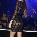 Η Μαρία Λέκκα με see through μαύρο φόρεμα σε βραδινή έξοδο στην Αθήνα