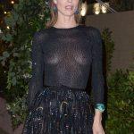 Η Eva Herzigova braless με see through φόρεμα στο Dior party για το 72ο Cannes Film Festival