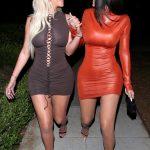 Kylie Jenner και Anastasia Karanikolaou με sexy φορέματα σε βραδινή έξοδο στο West Hollywood